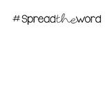 Word Wall Bulletin Board letters