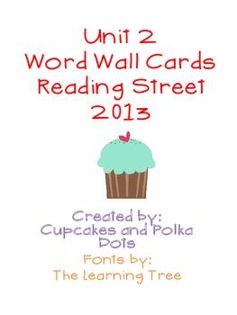 Word Wall Bundle- Reading Street Unit 2