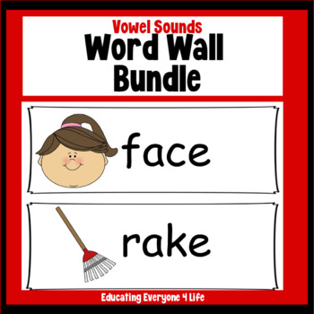 Word Wall : Bundle Vowel Sounds