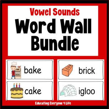 Word Wall : Bundle Vowel Sounds