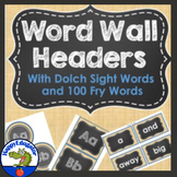Word Wall - Burlap and Chalkboard Theme - Sight Words