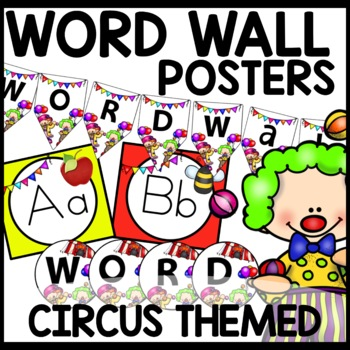 Word Wall (CIRCUS Themed)