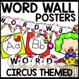 Word Wall (CIRCUS Themed)