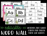 Word Wall - Cactus - Succulent Themed - Classroom Decor
