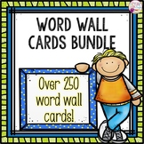 Word Wall Card Bundle