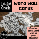 Word Wall Cards: 1st, 2nd, and 3rd Grade