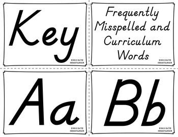 Word Wall Cards - 4th Grade Virginia