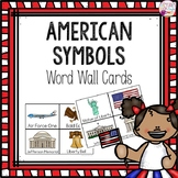 Word Wall Cards: American Symbols