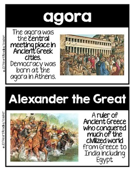 Word Wall Cards: Ancient Greece