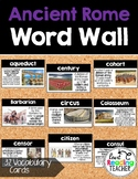 Word Wall Cards: Ancient Rome