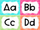 Word Wall Cards- Bright