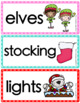 Word Wall Cards {December}