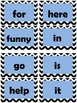 Word Wall Cards: Dolch Sight Words Pre-primer and Primer