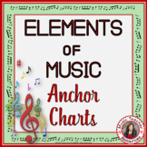 Elements of Music Posters: Music Vocabulary: Music Anchor Charts