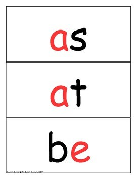 Word Wall Cards Fry 1st 100 Red Letter