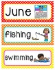 Word Wall Cards {June}