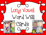 Word Wall: Long Vowel Sounds With Illustrations