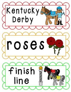 Word Wall Cards {May}