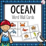 Word Wall Cards: Ocean