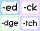 Word Wall Headers- Pastel