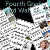 Word Wall Cards Social Studies- 4th (Marzano)
