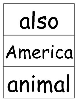 Word Wall Cards - The 2nd 100