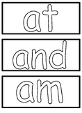 Word Wall Cards for Daily 5