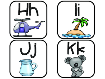 Word Wall Cards in Spanish