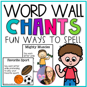 Word Wall Chants for Grades K-3