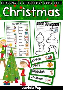 Christmas Vocabulary Word Wall