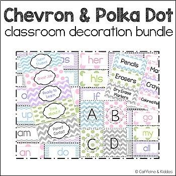 Word Wall Classroom Bundle