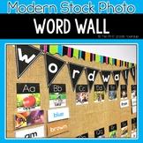Modern Stock Photo Word Wall Classroom Decor