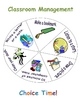 Word Wall & Classroom Management Spinners! (4 Different Spinners!)
