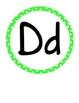 Word Wall Colorful Polka Dot