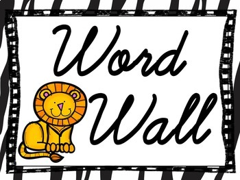 Word Wall Letters Cursive