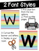 Word Wall Decor {Rainbow Pop}