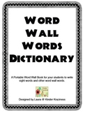 Word Wall Dictionary