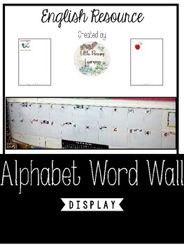 Word Wall Display A4 Size