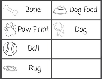 Word Wall Dog Bundle