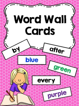 Word Wall (Dolch Sight Words)