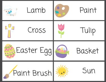 Word Wall Easter