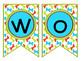 Word Wall ~ Editable ~ Paw Print
