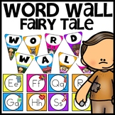 Fairy Tale themed Word Wall
