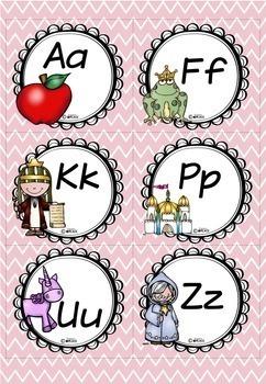Word Wall Fairy Tale Theme