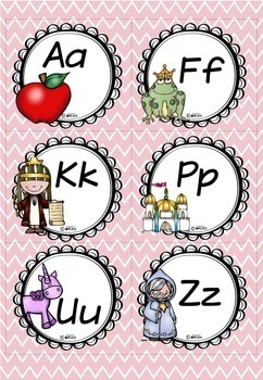 Word Wall Fairy Tale Theme