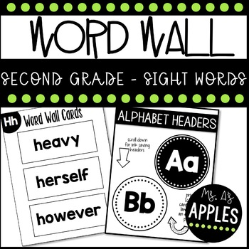 Word Wall First Grade Sight Words