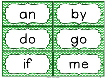 Word Cards (Editable) and Booklets