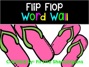 Word Wall - Flip Flop