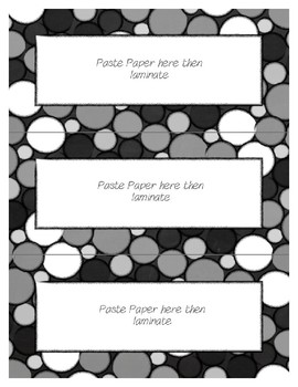 Word Wall Frames - Create Your Dream Room Decor - Black Chalkboard
