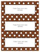 Word Wall Frames - Create Your Dream Room Decor - Brown